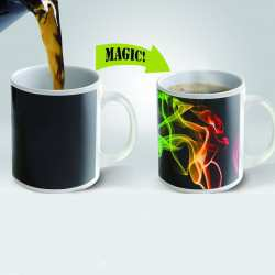 Heat Sensitve Color Changing Mug